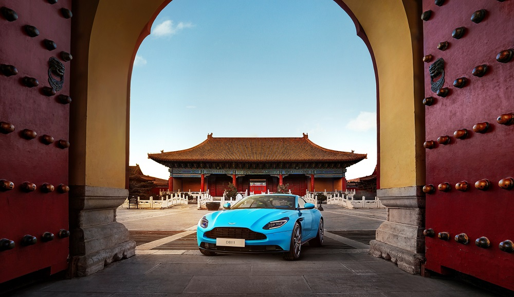 Aston Martin targets trade and investments in China worth £620 Million