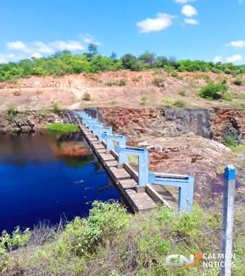Miguel Calmon: Barragem do França continua recebendo grande volume de água