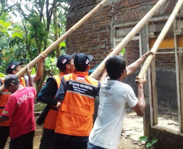 Relindo Kebumen Salurkan Bantuan untuk Korban Longsor di Sempor