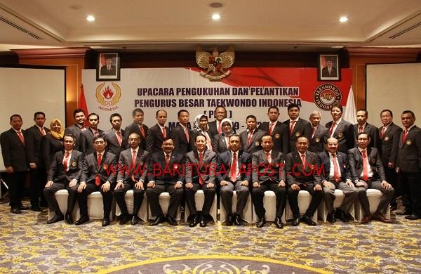 Letjen TNI (Purn) H.M. Thamrin Marzuki S.Sos Resmi Jabat Ketua Umum PBTI Periode 2019-2023