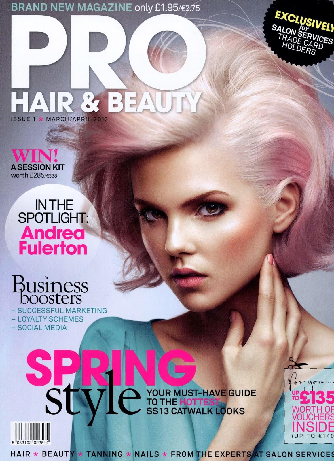 Emilie P For Pro Hair & Beauty Magazine