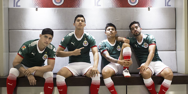 competitive price 5acf1 be41d Chivas 2017-2018 Third Kit Released - Footy Headlines