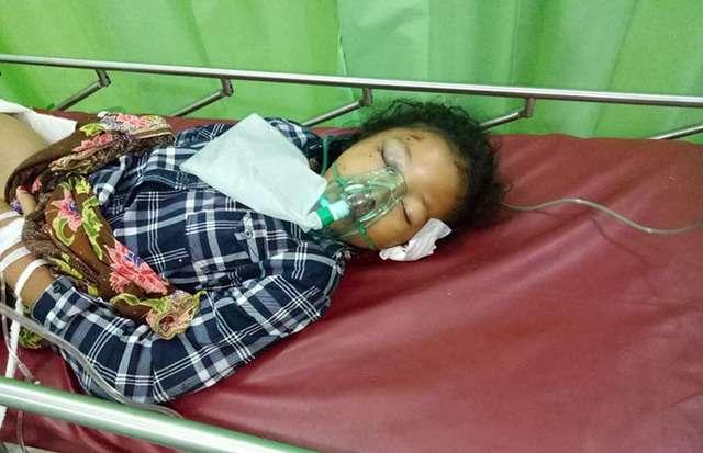 Korban kecelakaan lalulintas di Taput.