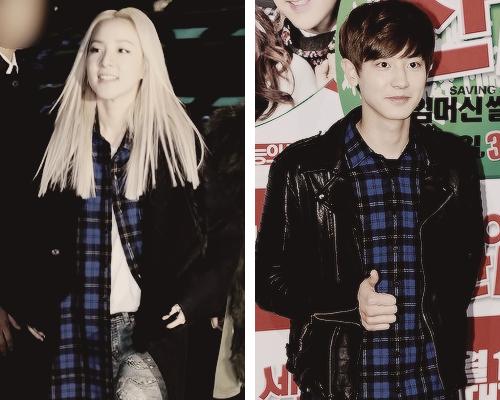 Έξω chanyeol dating Dara