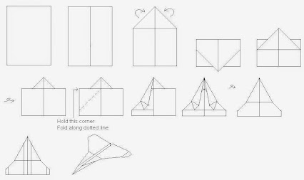 How to build a far flying paper airplane