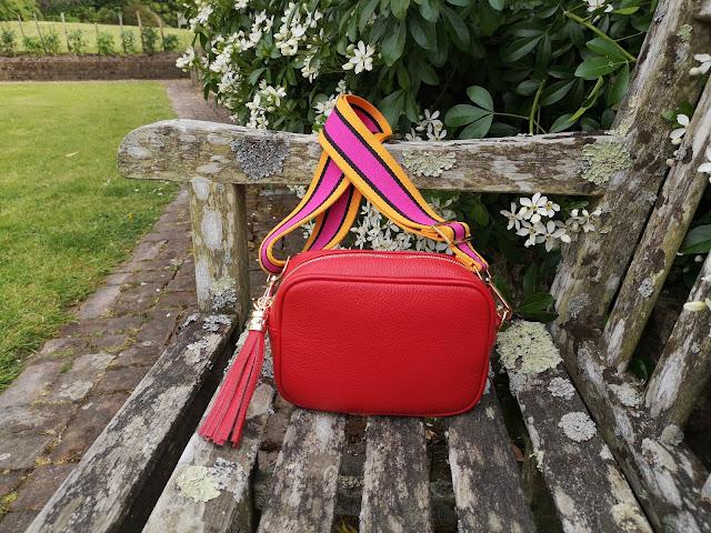 Red Meg & Bee bag