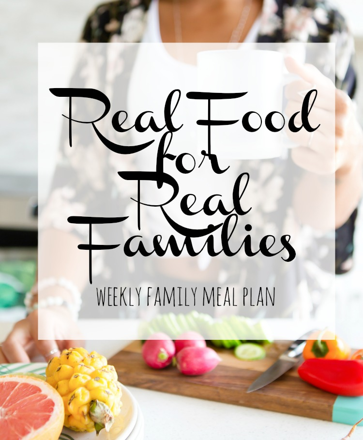 Weekly Family Meal Plan 2017 Week 40