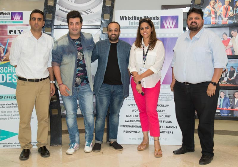 From left Rahul Puri, HOD, Academics, WWI with Varun Sharma, Mrigdeep Singh Lamba, Meghna Ghai Puri, President, WWI and Chaitanya Chinchlikar, Chief Technology Officer at WWI