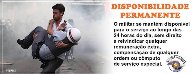 CAMPANHA PELA VALORIZAÇÃO DO POLICIAL MILITAR