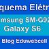 Esquema Elétrico Samsung Galaxy S6 SM-G920F - Manual de Serviço