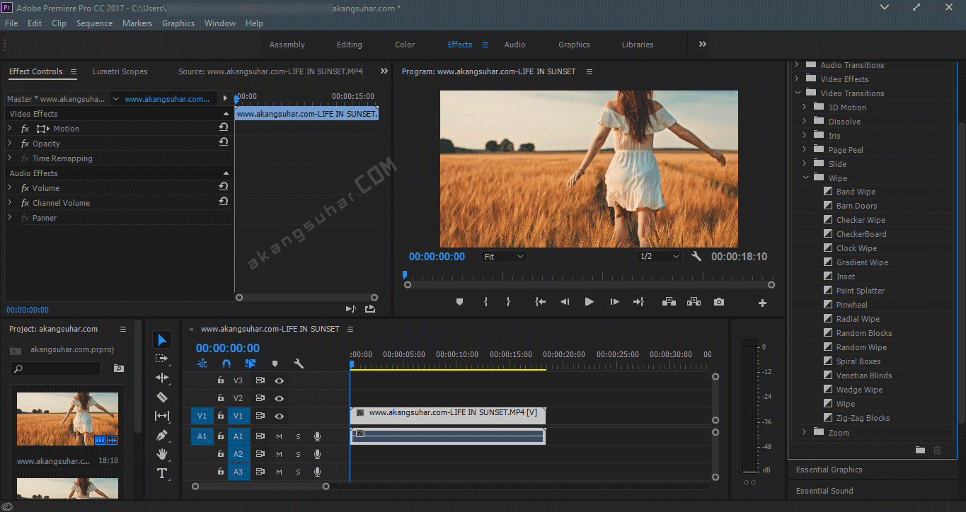 Gratis Download Adobe Premiere Pro CC 2017 Full Crack Terbaru