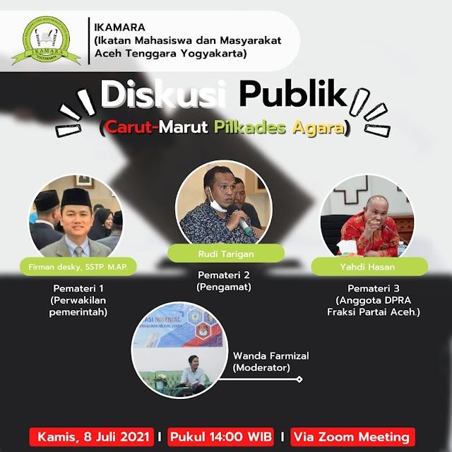 """IKAMARA Yogyakarta adakan Diskusi Publik Terkait """"Carut Marut Pilkades Agara""""   PikiranSaja.com"""