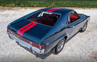 1968 AMC AMX Sports Coupe Rear Right