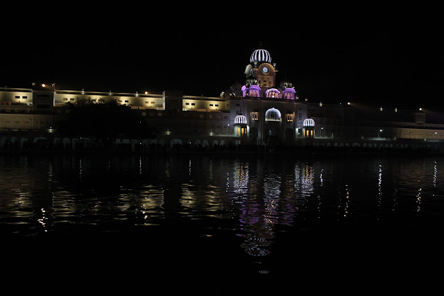 Golden Temple, Night view