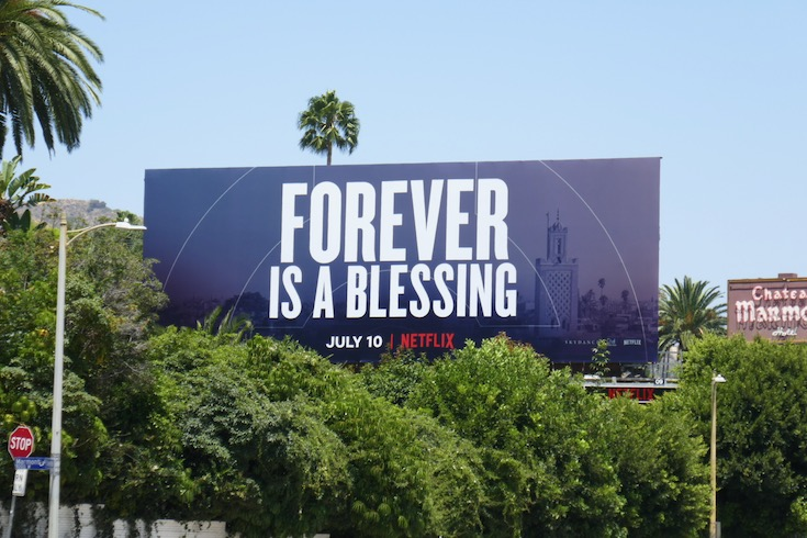 Forever a blessing Old Guard billboard