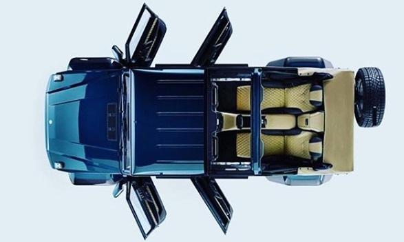 Akseslerasi Pintu Mercedes Maybach G650 Landaulet