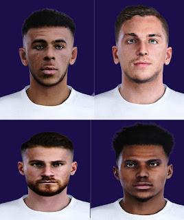 PES 2021 Premier League Facepack by Rednik