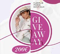 Vinci gratis buono acquisto da 200€ con Floralie Morin Boutique