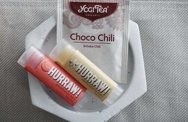 hurraw huulivoide greippi vanilja chili suklaa tee