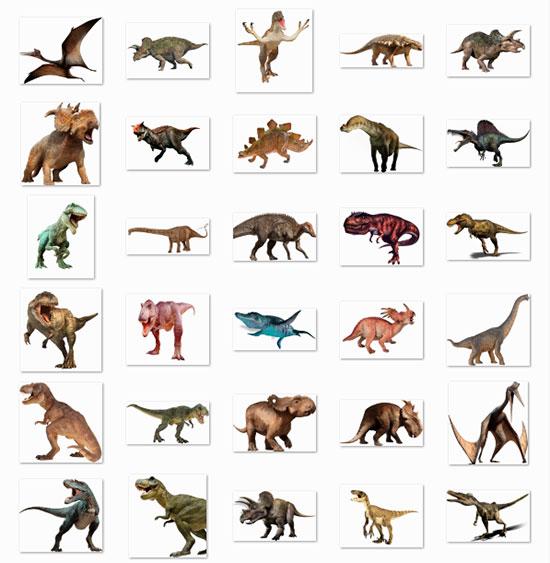 Descargar 30 Imágenes de Dinosaurios en PNG - Vista Previa