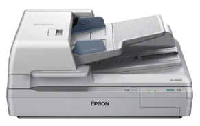 Epson WorkForce DS-60000 Color Document Scanner image and supports