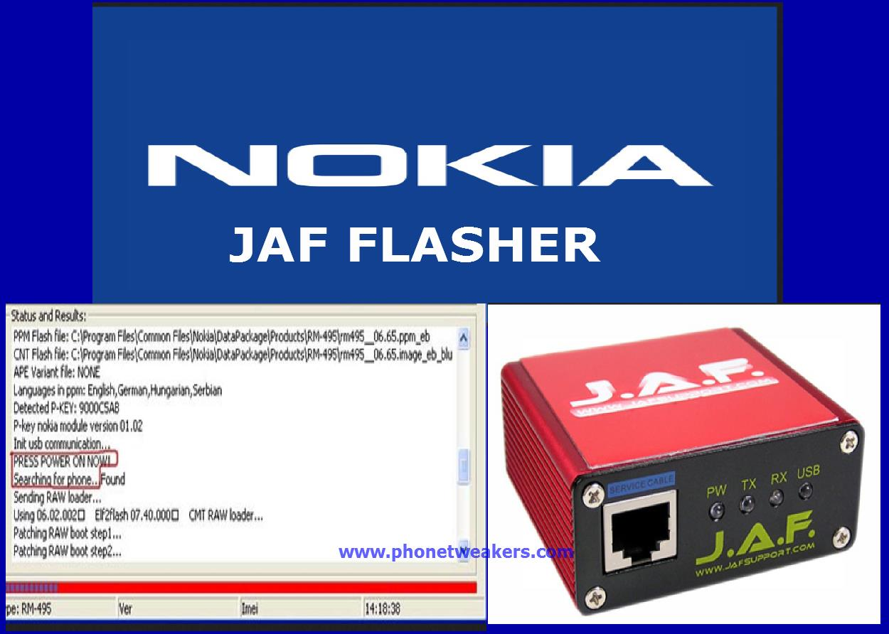JAF USB FLASHING DRIVERS DOWNLOAD FREE