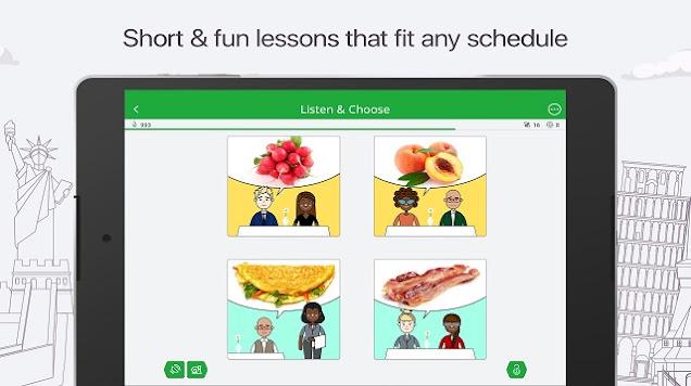 Aplikasi belajar bahasa Spanyol