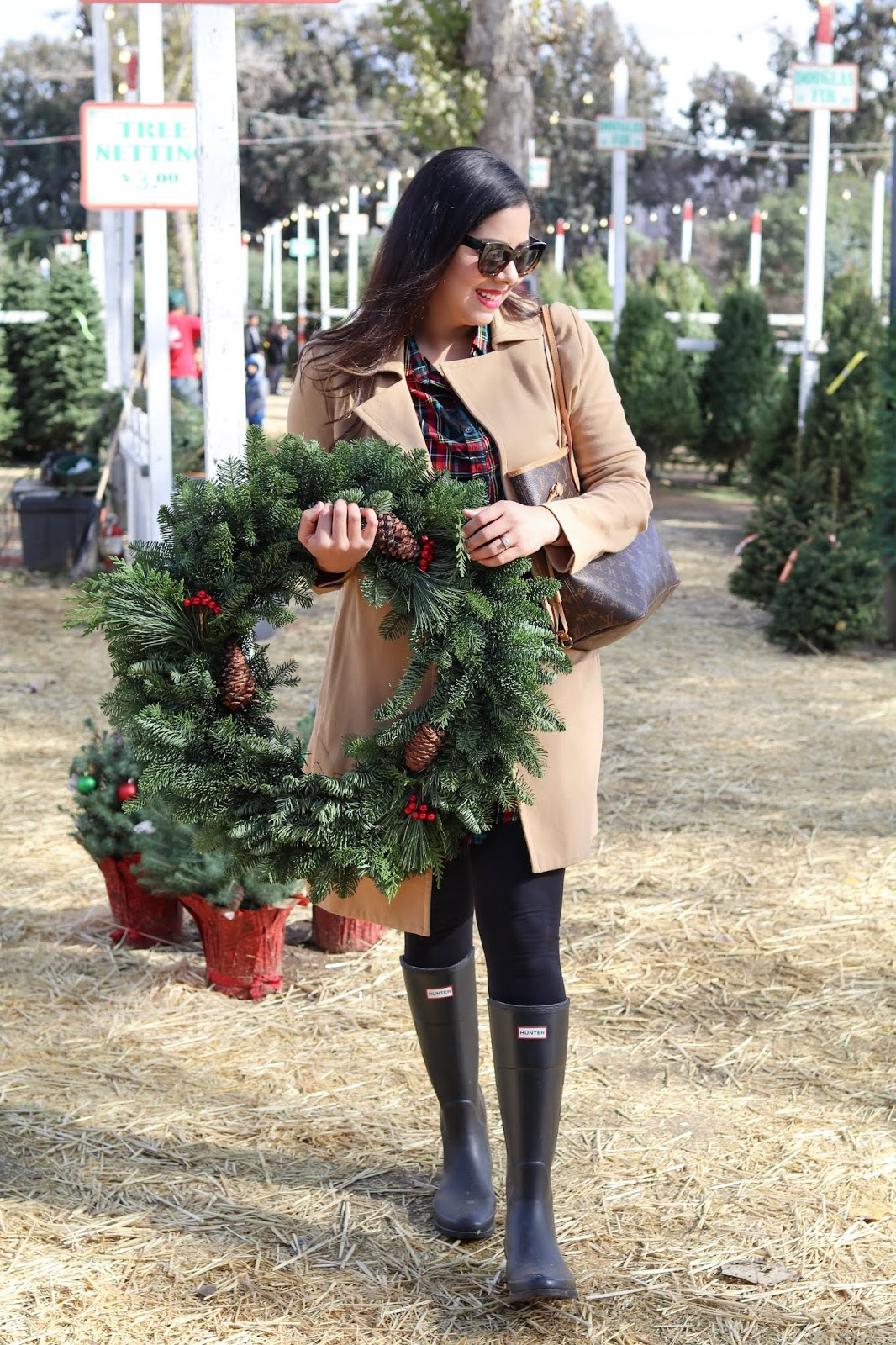 Christmas Tree Picking Outfit, San Diego fashion blogger, San Diego Holidays blogger