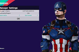 Captain America Mod Manager - PES 2021