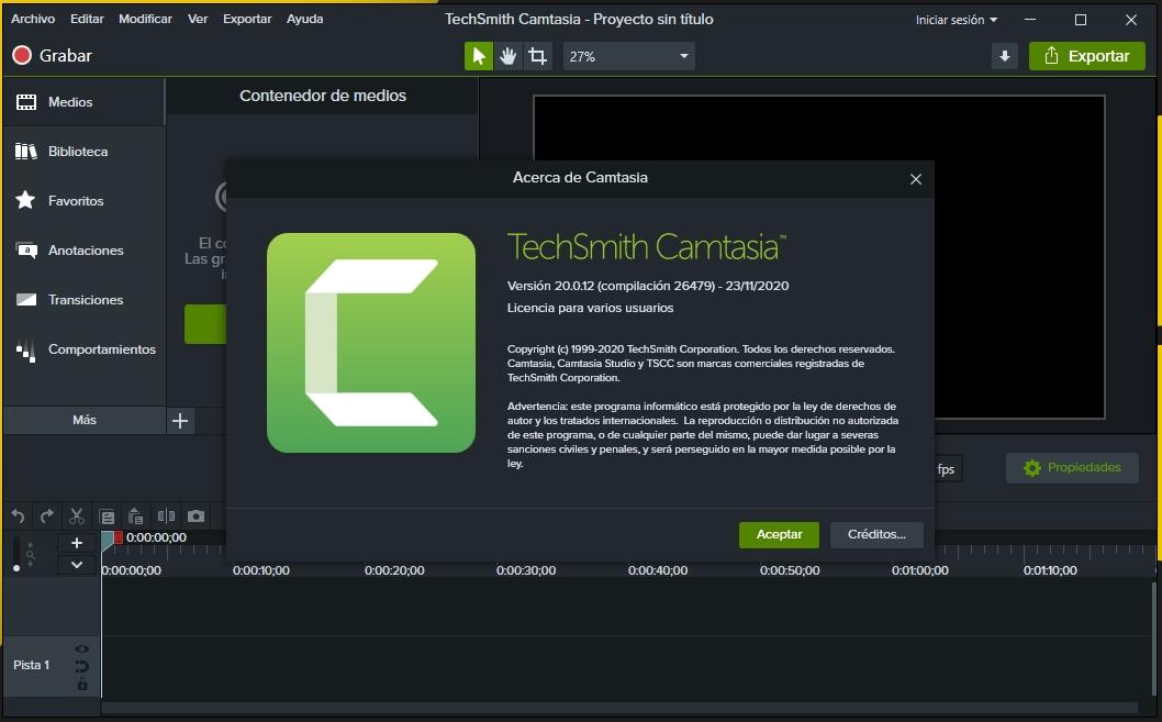 Camtasia 2021 Full Español