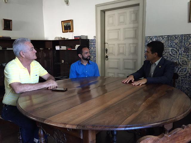 Dep. Eduardo Salles e prefeito Zequinha Dourado solicitam auxílio do IPHAN no projeto de recuperação da Igreja Matriz