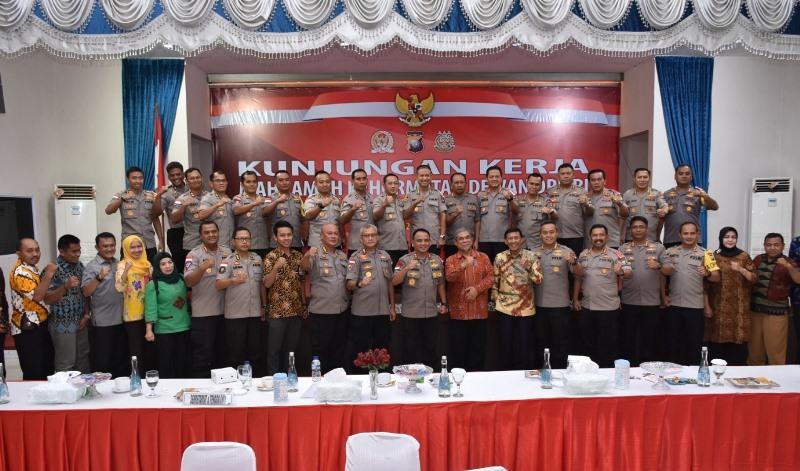 Polda Kepri Sambut Kunjungan Kerja dari Tim MKD DPR-RI