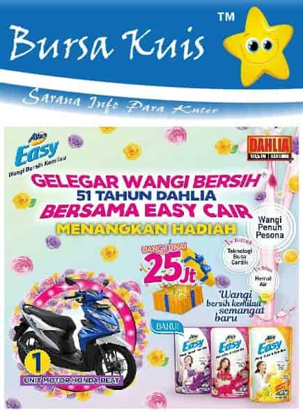 Promo Undian Terbaru Attack Easy Cair Berhadiah Sepeda Motor