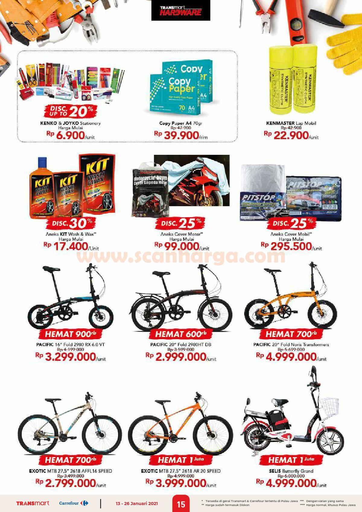 Katalog Promo Carrefour Transmart 13 - 26 Januari 2021 15