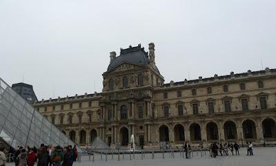 Foto do Palácio do Louvre. A história do Museu do Louvre