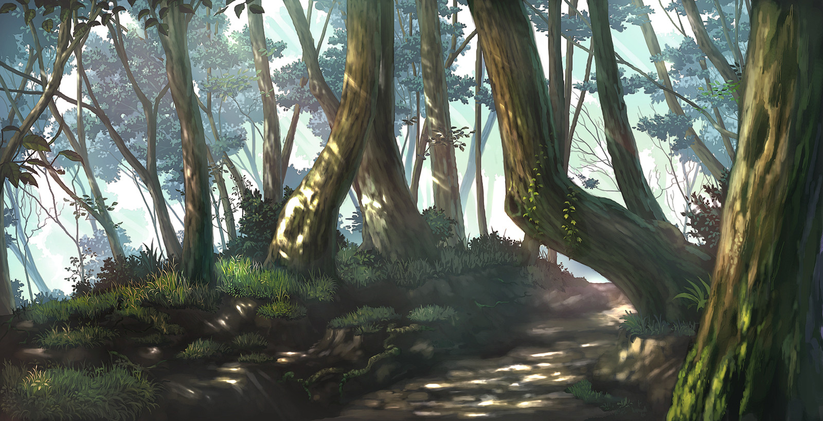 Nature Anime Scenery Wallpapers