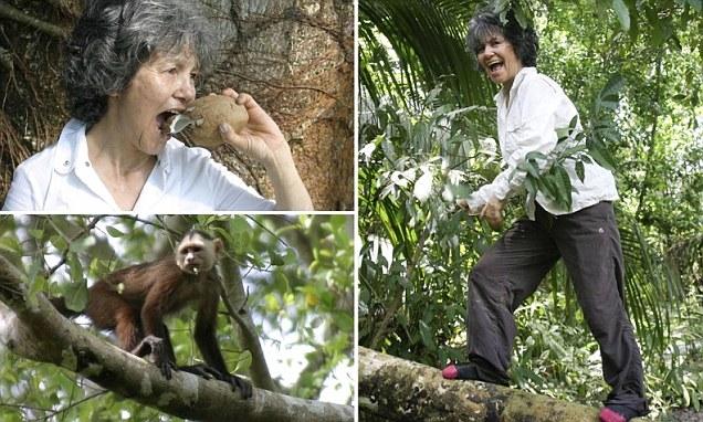 Marina Chapman di besarkan dan dididik oleh seekor monyet