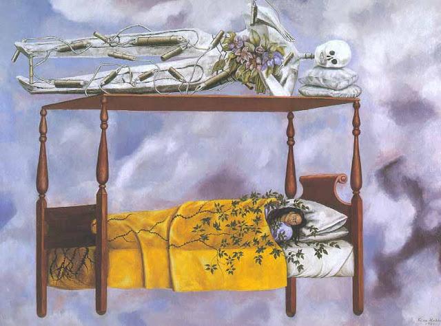 Frida quadro morte