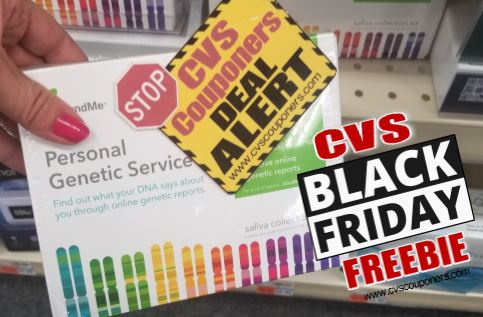 FREE 23andMe DNA Kit CVS Black Friday Deal