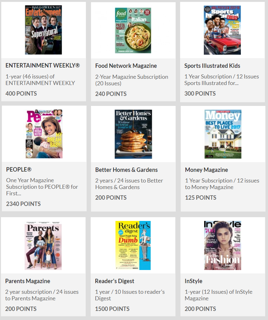 FREE Magazine Subscriptions through Recyclebank Program