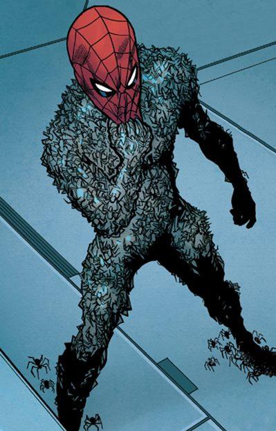 Versión oscura y diferente de Spiderman