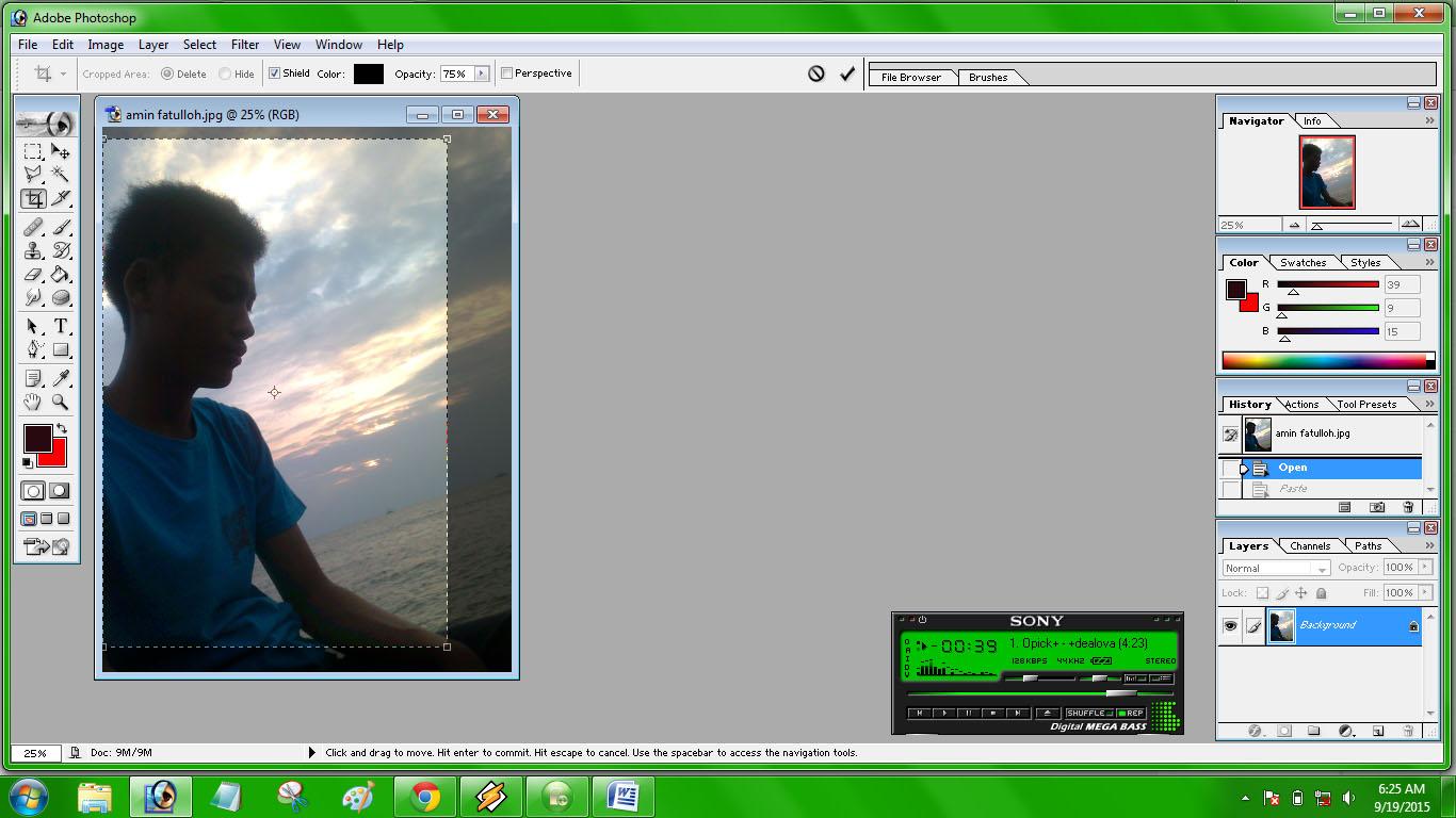 Cara Membuat Ukuran Pas Foto dengan Photoshop