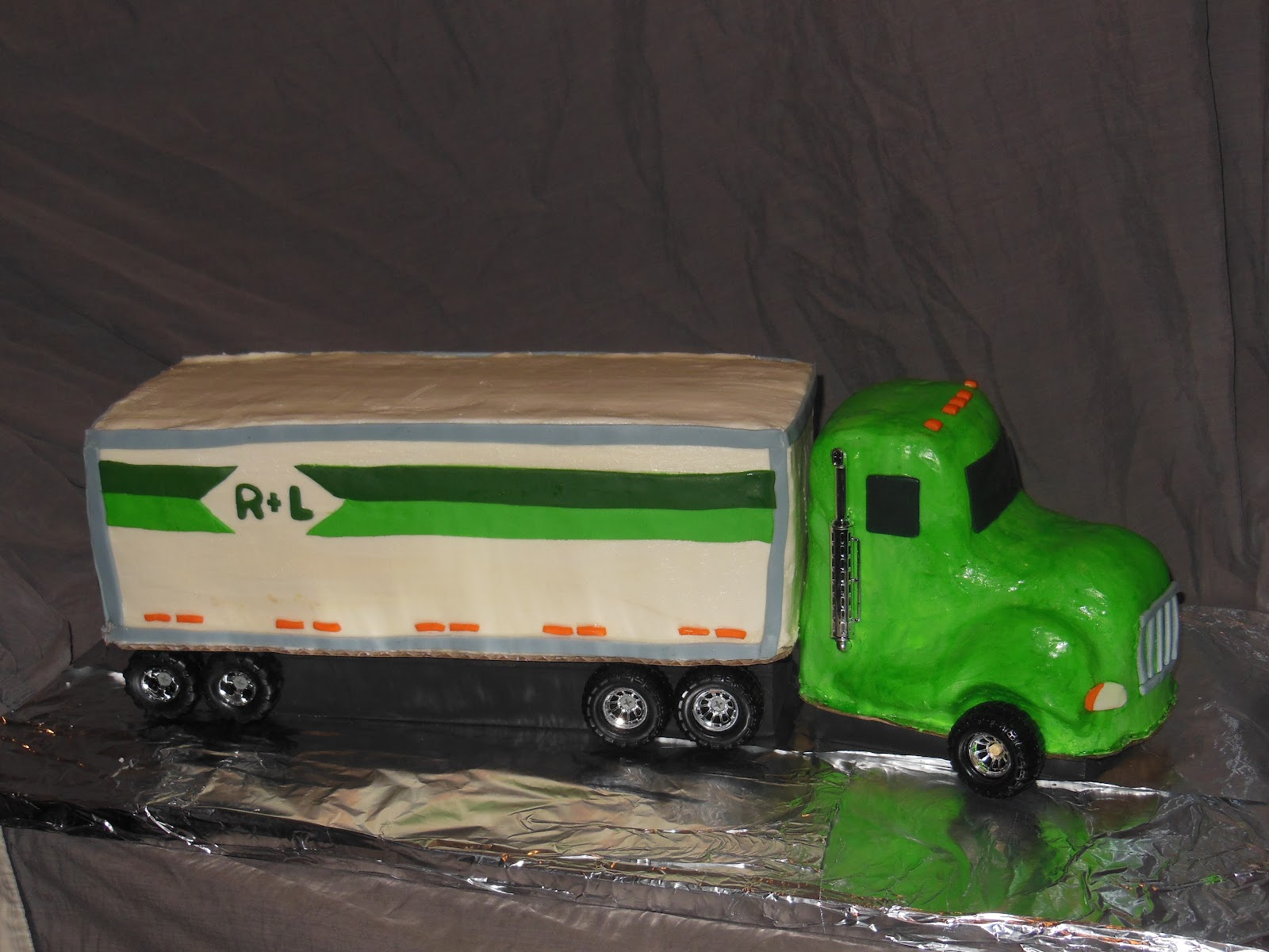 Cakes By Christina Semi Truck Cake