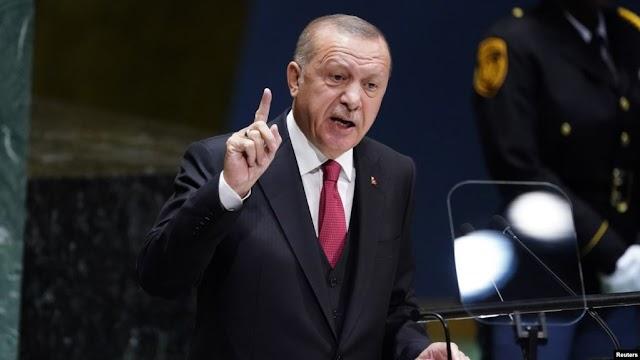 Erdogan : Kami tidak takut sanksi AS. Kami hanya takut azab Allah!