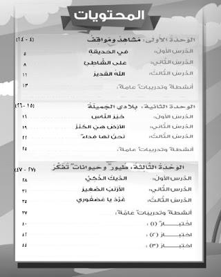 تحميل كتاب الانشطة والتدريبات فى اللغة العربية للصف الثانى الابتدائى الترم الاول
