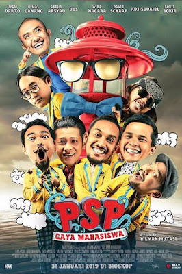 Sinopsis film PSP: Gaya Mahasiswa (2019)