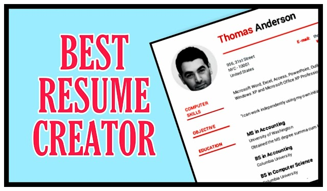 Free Best Creative Resume Maker online Download for freshers