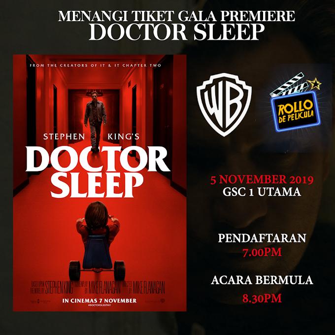 Peraduan Tiket Wayang: Filem Doctor Sleep