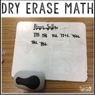 Dry erase board ideas for math