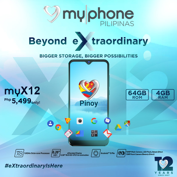 myPhone - myPhone X - myX12 - Octa-core android phone - affordable smartphone - dewdrop display - bokeh effect - Bacolod blogger - myX12 price - myX12 specs  - dual camera